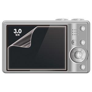 (まとめ) サンワサプライ 液晶保護光沢フィルム3.0型 DG-LCK30 1枚 【×30セット】 - 拡大画像