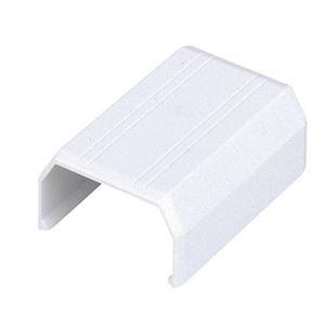 (まとめ) エレコム フラットモール接続ユニット ジョイント 幅17mm用 ホワイト LD-GAFJ1/WH 1個  【×100セット】 - 拡大画像