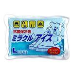 (まとめ)菱屋 ミラクルアイス L 500g 1個【×100セット】