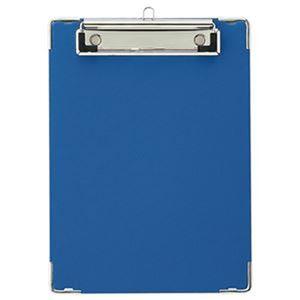 (まとめ)TANOSEE 用箋挟 A5タテ ブルー 1枚【×50セット】 - 拡大画像