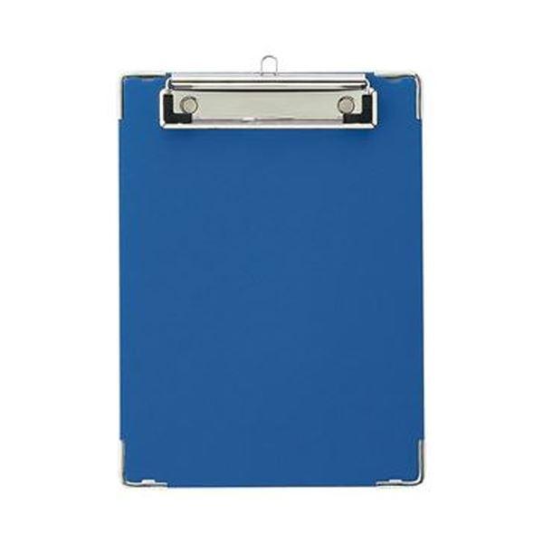 (まとめ)TANOSEE 用箋挟 A5タテ ブルー 1枚【×50セット】