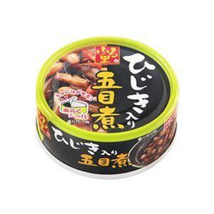 (まとめ)ホテイフーズ ふる里 ひじき入り五目煮75g 1缶【×50セット】 - 拡大画像