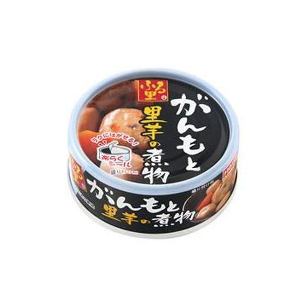 (まとめ)ホテイフーズ ふる里 がんもと里芋の煮物70g 1缶【×50セット】