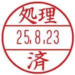 (まとめ)シヤチハタ データーネームEX 15号専用印面(処理済)XGL-15M-J26 1個【×20セット】