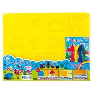 (まとめ)銀鳥産業型押しねんど板&ヘラセット 462-015 1セット【×20セット】 - 拡大画像