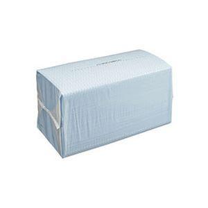 (まとめ)TANOSEE カウンタークロス ブルー 1パック(100枚)【×10セット】 - 拡大画像