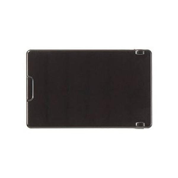(まとめ)TRUSCO 操作盤用フタ TS黒 難燃5760121001 1個【×10セット】