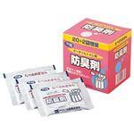 (まとめ)アロン化成 ポータブルトイレ用防臭剤533-208 1箱(22袋)【×10セット】
