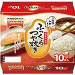 (まとめ)テーブルマーク ふっくらつや炊き180g 1パック(10食)【×10セット】