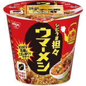 (まとめ)日清食品 日清ウマーメシ シビうま坦々103g 1ケース(6食)【×10セット】 - 拡大画像
