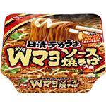 (まとめ)日清食品 日清デカうまWマヨソース焼そば 1ケース(12食)【×10セット】