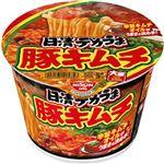 (まとめ)日清食品 日清デカうま 豚キムチ 1ケース(12食)【×10セット】