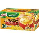 (まとめ)味の素 クノール カップ スープコーンクリーム 17.6g 1箱(30食)【×10セット】
