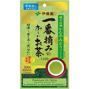(まとめ)伊藤園 一番摘みのおーいお茶 100g 1袋【×10セット】 - 拡大画像
