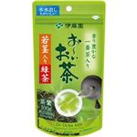 (まとめ)伊藤園 おーいお茶 若茎入り緑茶100g/袋 1セット(3袋)【×10セット】
