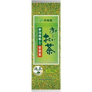 (まとめ)伊藤園 おーいお茶 宇治抹茶入り玄米茶200g 1セット(3袋)【×10セット】 - 拡大画像