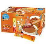 (まとめ)伊藤園 おーいお茶 さらさらほうじ茶スティック 0.8g 1箱(100本)【×10セット】