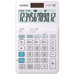 (まとめ)カシオ W税率電卓 12桁ジャストタイプ JW-200TC-N 1台【×5セット】