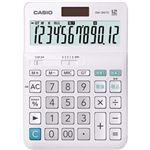 (まとめ)カシオ W税率電卓 12桁 デスクタイプDW-200TC-N 1台【×5セット】
