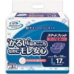 (まとめ)リブドゥコーポレーション リフレスマートフィット テープ止めタイプ L 1パック(17枚)【×5セット】