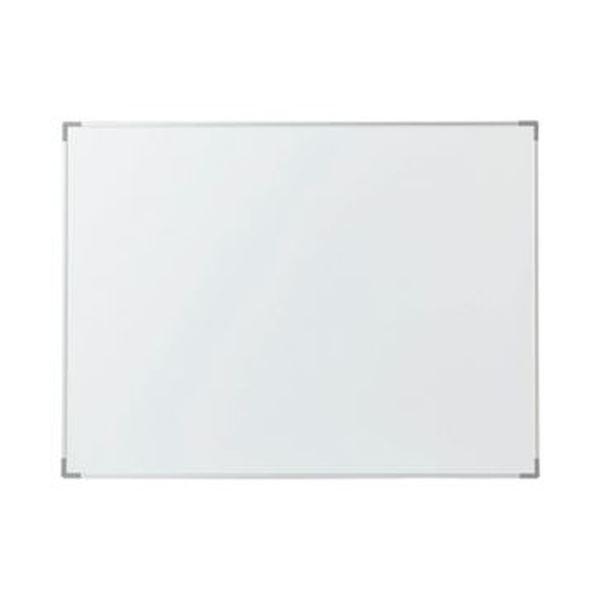 (まとめ)TANOSEE アルミホワイトボードW600×H450mm 1枚【×5セット】