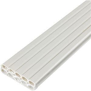 (まとめ)ELPA テープ付ABSモール 1号1m ミルキー M-T1110P(M)1パック(10本)【×5セット】 - 拡大画像