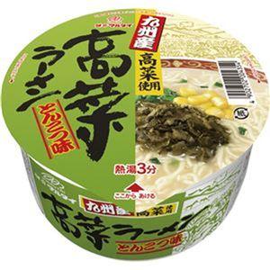 (まとめ)マルタイ 九州産 高菜ラーメンとんこつ味 89g 1ケース(12食)【×4セット】 - 拡大画像
