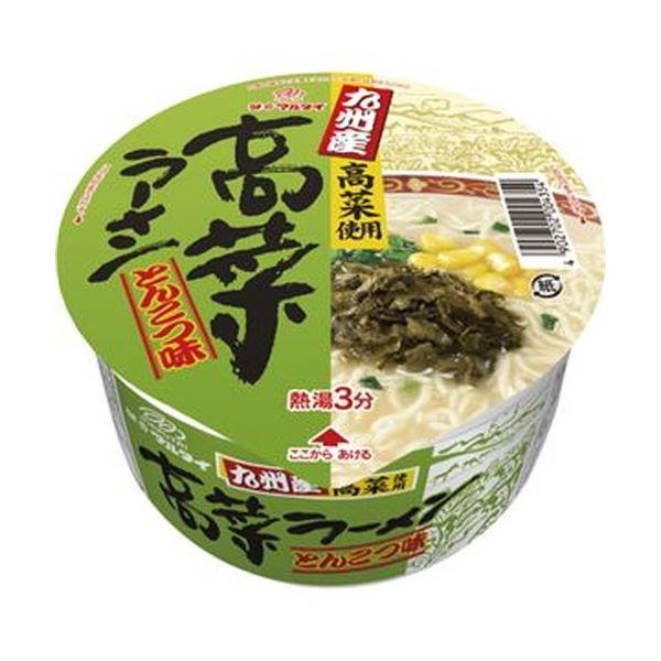 (まとめ)マルタイ 九州産 高菜ラーメンとんこつ味 89g 1ケース(12食)【×4セット】