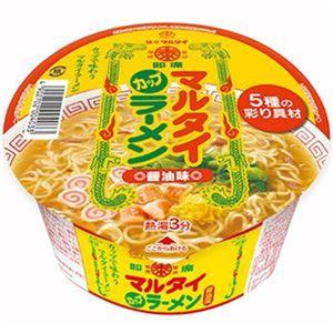 (まとめ)マルタイ カップ マルタイラーメン 82g 1ケース(12食)【×4セット】 - 拡大画像