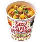 (まとめ)日清食品 カップ ヌードルコッテリーナイス 濃厚 ポークしょうゆ 57g 1ケース(12食)【×4セット】