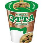 (まとめ)東洋水産 MARUCHAN QTTATONKOTSUラーメン 76g 1ケース(12食)【×4セット】