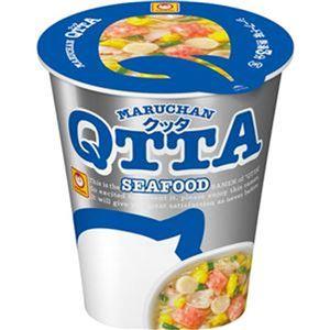 (まとめ)東洋水産 MARUCHAN QTTA SEAFOODラーメン 78g 1ケース(12食)【×4セット】 - 拡大画像
