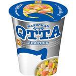 (まとめ)東洋水産 MARUCHAN QTTA SEAFOODラーメン 78g 1ケース(12食)【×4セット】