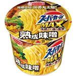 (まとめ)エースコック スーパーカップ MAX熟成味噌 138g 1ケース(12食)【×4セット】