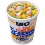 (まとめ)日清食品 カップ ヌードルシーフードヌードル ビッグ 104g 1ケース(12食)【×4セット】