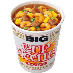 (まとめ)日清食品 カップ ヌードル ビッグ100g 1ケース(12食)【×4セット】 - 拡大画像