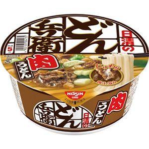 (まとめ)日清食品 日清のどん兵衛 肉うどん87g 1ケース(12食)【×4セット】 - 拡大画像