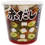 (まとめ)神州一味噌 おいしいね!!赤だしカップ 24.2g 1セット(18食:6食×3ケース)【×5セット】
