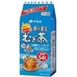 (まとめ)伊藤園 香り薫るむぎ茶 ティーバッグ8g 1ケース(540バッグ:54バッグ×10袋)【×5セット】