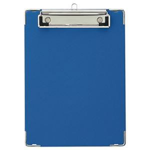 (まとめ)TANOSEE 用箋挟 A5タテ ブルー 1セット(20枚)【×3セット】 - 拡大画像
