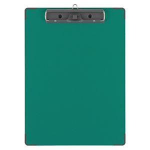 (まとめ)コクヨ 用箋挟B(クロス貼り)カラーA4タテ 緑 ヨハ-C28G 1セット(10枚)【×3セット】 - 拡大画像