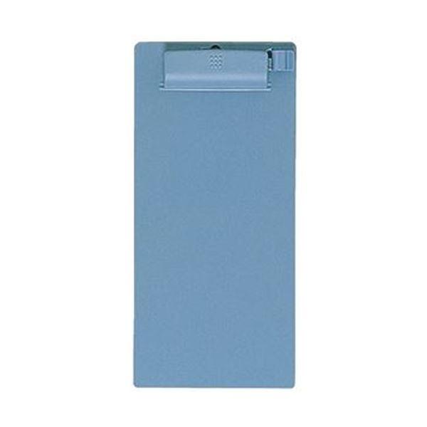 (まとめ)コクヨ クリップボードE A5変形タテ青 ヨハ-61B 1セット(10枚)【×3セット】