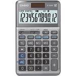 (まとめ)カシオ 軽減税率電卓 12桁ジャストタイプ JF-200RC-N 1台【×3セット】