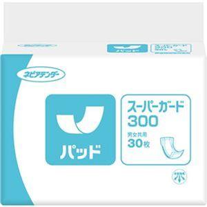 (まとめ)王子ネピア ネピアテンダー パッドスーパーガード300 1セット(180枚:30枚×6パック)【×3セット】 - 拡大画像