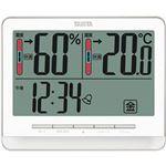 (まとめ)タニタ 温湿度計 ホワイトTT-538WH 1個【×3セット】