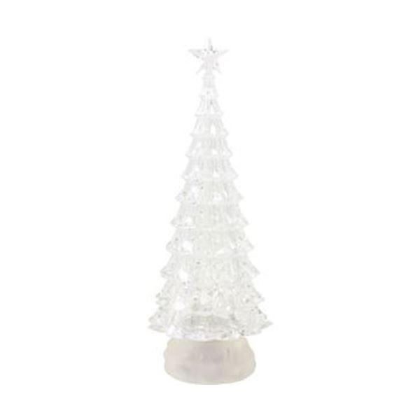 (まとめ)函館クリスマスファクトリーバブルLEDクリアツリー スター L 1個【×3セット】