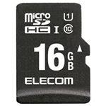 (まとめ)エレコム ドラレコ/カーナビ向け車載用microSDHCメモリカード 16GB MF-CAMR016GU11A 1枚【×3セット】