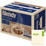 (まとめ)味の素AGF ブレンディレギュラーコーヒー ドリップパック キリマンジャロブレンド 7g 1セット(200袋:100袋×2箱)【×3セット】