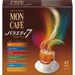 (まとめ)片岡物産 モンカフェ ドリップコーヒーバラエティ7 1セット(90袋:45袋×2箱)【×3セット】