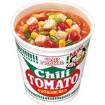 (まとめ)日清食品 カップ ヌードルチリトマトヌードル 76g 1ケース(20食)【×4セット】